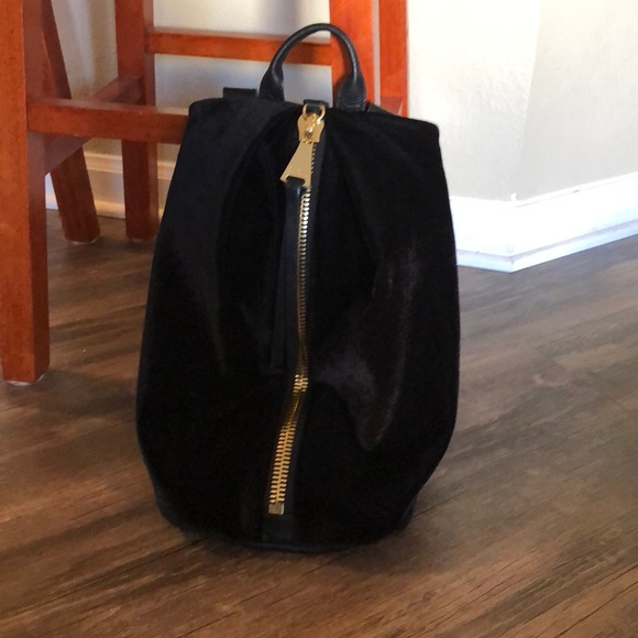 979b0f1f3c Aimee Kestenberg Handbags - Black velvet backpack